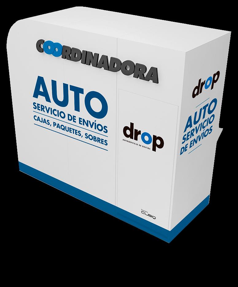 Drop Coordinadora - Ahorra tu tiempo - Práctico y cómodo - Múltipes formas de pago - Vanguardista