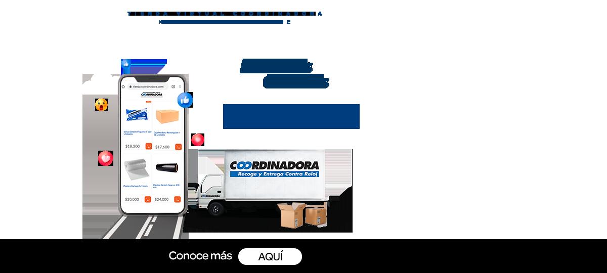 envio gratis tienda virtual de empaques