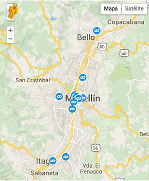 Oficinas y puntos de atención de Coordinadora en Colombia - Coordinadora.com