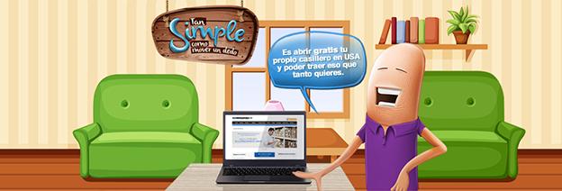 Con Coordinadora USA puedes solicitar tu casillero virtual totalmente gratis, esto te permitirá comprar por internet en Estados Unidos y recibirlo en la puerta de tu casa o negocio en Colombia